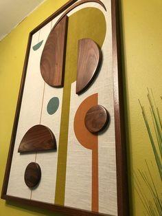 Modern Wall Art, Wood Wall Art, Lori Walls, Framed Fabric, Fabric Frame, Coral Wall Art, Painting Corner, Modern Floating Shelves, Mid Century Wall Art