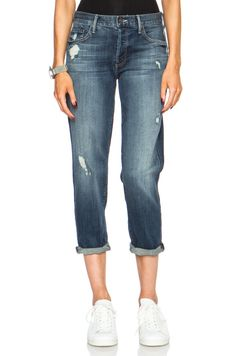Mother - Blue The Loosey Mother Denim, Alley Cat, Boyfriend Jeans, Cool Style, Slim, Best Deals, Pants, Fashion, Moda