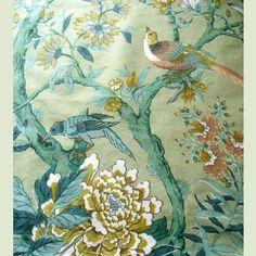 Rag Rescue - English vintage furnishing fabric - 13JY14