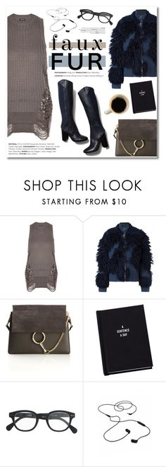 """""""Faux fur coats!"""" by helenevlacho ❤ liked on Polyvore featuring 3.1 Phillip Lim, Chloé, Tory Burch, J.Crew, AIAIAI, contestentry and fauxfurcoats"""