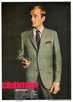 Sell Me Yesteryear: Clubman Sportcoats