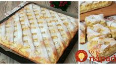 Jemný tvarohový mrežovník s jablkami: Každé sústo sa rozpadáva na jazyku – úžasný koláčik! Apple Pie, Bread, Baking, Food, Anna, Basket, Bread Making, Meal, Patisserie