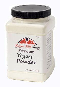 Premium Yogurt Powder by Hoosier Hill Farm 1 lb - http://spicegrinder.biz/premium-yogurt-powder-by-hoosier-hill-farm-1-lb/