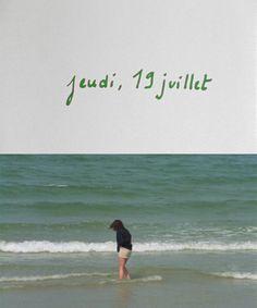 """cinematic-studies: """"Le rayon vert (Éric Rohmer, 1986) """""""