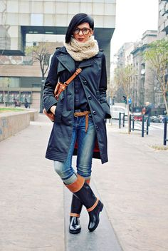 0b14bc6df68 Discover this look wearing Black Tommy Hilfiger Boots
