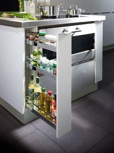Comment utiliser la disposition d'armoires de cuisine la plus pratique?