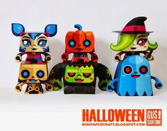 [halloween day] mini monsters