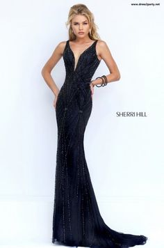 Sherri Hill dresses are designer gowns for television and film stars. Find out why her prom dresses and couture dresses are the choice of young Hollywood. Pageant Dresses, Dance Dresses, Ball Dresses, Homecoming Dresses, Ball Gowns, Club Dresses, Sherri Hill Prom Dresses, Sherri Hill Black Dress, Dressy Dresses