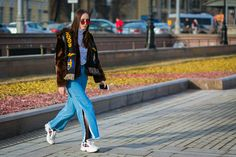 The Best Street Style from Russia Fashion Week Fall 2017