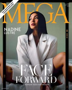 Amid the persistent pandemic, MEGA magazine is committed to telling stories of truth, coming together in strength and hope for its latest issue. Nadine Lustre Outfits, Tony Labrusca, Ylona Garcia, Kylie Verzosa, Georgina Wilson, Filipina Actress, Jadine, Face Forward, Best Actress
