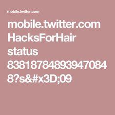 mobile.twitter.com HacksForHair status 838187848939470848?s=09