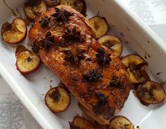 Sticky Gammon with Roasted Plums - CookTogether