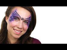 Halloween Basic Witch Face Paint Tutorial #Snazaroo #facepaint #halloween