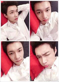 "Lay - 160601 Weibo account update: ""在我心里你们永远可以过儿童节啊 宝宝们六一快乐"" Translation: ""#In my heart you all will always be able to celebrate Children's Day. Happy 1st of June, babies"" Credit: 努力努力再努力x."