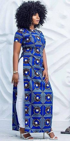 Statement African Print fashion dresses for women African Fashion Ankara, African Inspired Fashion, Latest African Fashion Dresses, African Dresses For Women, African Print Fashion, Africa Fashion, African Attire, African Wear, Fashion Prints