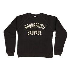 CLARE V Sweatshirt. #clarev #cloth #