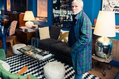 """If you've ever wondered whether """"The Style Guy""""(or Glenn O'Brien, if we must) is as interesting and sartorially on-point in real life as he is in print, you no longer have to wonder. The Coveteur bri..."""