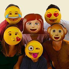 Emoji Party Masks