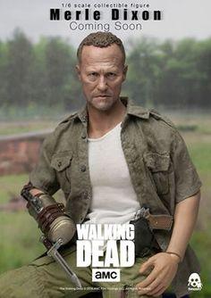 ToyzMag.com » Walking Dead : ThreeZero tease la figurine Merle Dixon