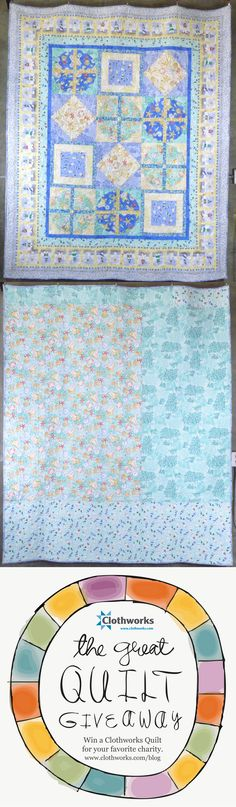 Repin this to help me win quilts to raffle off to feed  hungry children! Beach-themed quilt with sand dollars and lighthouses. FAbric collection: Beach Comber by Barb Tourtillotte. #Clothworksquiltgiveaway
