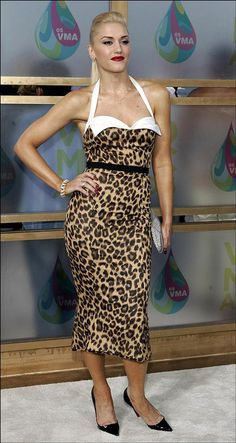 Gwen Stefani... one of the first female singers I just adored! Still do :)