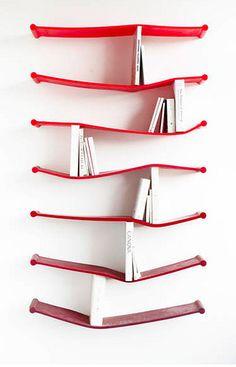 Bendy Rubber Bookshelf