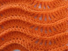 Hello everyone! Here is a video about how to do the Lacy Ripple Stitch...