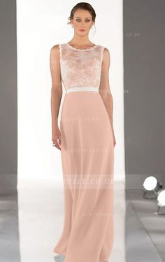 Chiffon Sleeveless A-line Natural Backless Bridesmaid Dresses Backless Bridesmaid  Dress cd015f145e8c