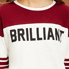 HDY Haoduoyi Print Letter Fashion Women T-shirt O Neck Color Block Casual Tops Brief Style Long Sleeve Knitted Tops For Female