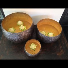 | gold and silver | Thai silver bowls