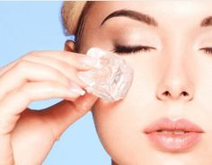 Ice facial for glowing skin in minutes. Beauty Care, Beauty Skin, Face Beauty, Beauty Secrets, Beauty Hacks, Beauty Ideas, Diy Beauty, Homemade Beauty, Beauty Products