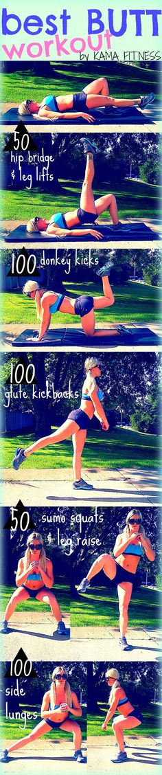 Best Butt Workout | This are awesome, we got to try this now. #youresopretty | youresopretty.com