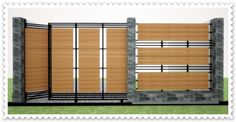Contoh Model Pagar Rumah Minimalis Terbaru 2016