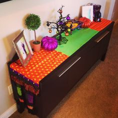 Our Styled Suburban Life: Start of Halloween Decor