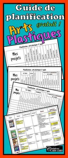 Guide de planification: Arts plastiques Bonjour chers (chères) collègues! Voici un document qui je l'espère, facilitera votre planification et votre enseignement des arts plastiques. Vous y trouverez : • Un guide à cocher. Écrivez le nom des projets que vous réalisez et cochez le langage plastique enseigné. • Une liste de mes projets. Elle contient le niveau, langage plastique, la technique, le matériel et la compétence à travailler.