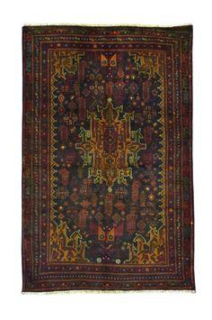 Persian Baluch Rug 3'8x6'1