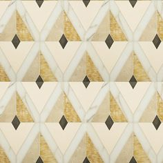 Alhambra in ivory cream, crema marfil, honey onyx, calacatta oro and lagos blue - Michael Smith