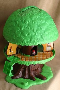 The Weeble Wobbles Treehouse...I had one of these. I loved it!