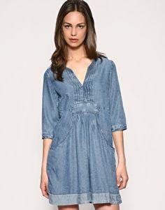 7a4a79601a9 Whistles dress Denim chambrey Used Dresses