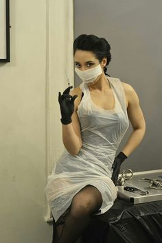 Plastic Aprons, Pvc Apron, Medical Uniforms, Blouse, Latex, Sexy Women, Female, Nurses, Apron