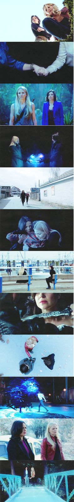 swan queen + blue || the only magic strong enough to transcend realms and break any curse   #ouat
