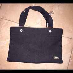 Lacoste Bag Authentic Small Lacoste handbag. Excellent condition with hardly any use. Lacoste Bags Mini Bags