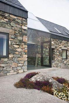 reconstruction of two derelict cottages_connemara_peter legge assoc