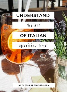 Italy | Aperitivo Time | European Travel | Travel Tips