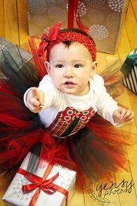 Christmas Gift Tutu Set from the Fit For A Princess 2011 holiday line.     www.ffaprincess.com