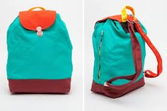 Image result for light green red backpack 90s