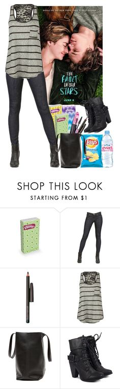 """""""The Fault In Our Stars."""" by pecio-chan ❤ liked on Polyvore featuring J Brand, Evian, Space NK, Full Tilt, L'Oréal Paris, women's clothing, women, female, woman and misses"""