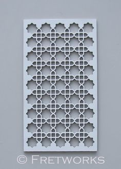 Fretwork Panel Pattern 105 Moroccan Decorative