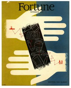 cMag533 - Fortune Magazine cover by Hans Moller / November 1947