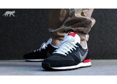 Nike Internationalist (Black / Medium Base Grey - University Red - Summit) | asphaltgold